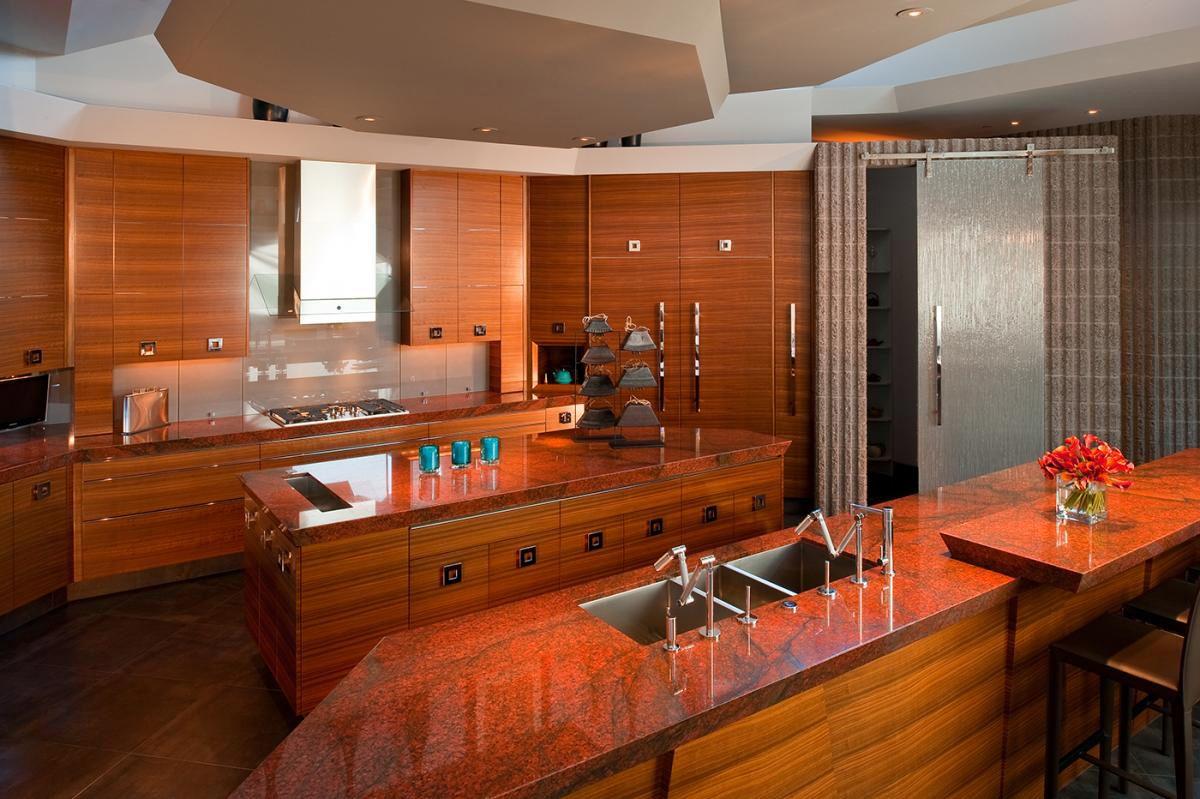 Red Dragon Granite Installed Design Photos And Reviews Granix Inc Red Granite Countertops Granite Kitchen Countertops