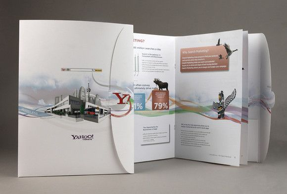 40 Examples of Creative Brochure Design Design Pinterest - brochure design idea example
