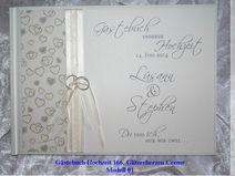 Gästebuch zur Hochzeit, EXKLUSIV,Herzen, 166