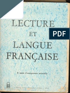 Lecture Et Langue Francaise 1as Hd Algerie Education