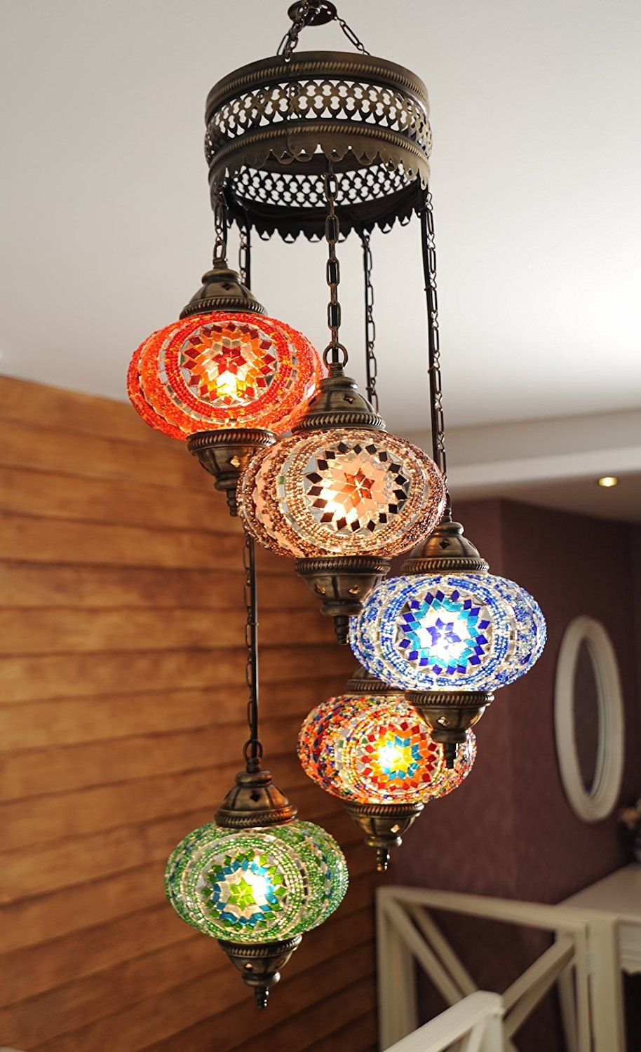 Moroccan style chandelier lantern lamp homedecor moroccan style chandelier lantern lamp homedecor homestyledecor chandelier boho bohemian aff lighting paradise pinterest group arubaitofo Choice Image