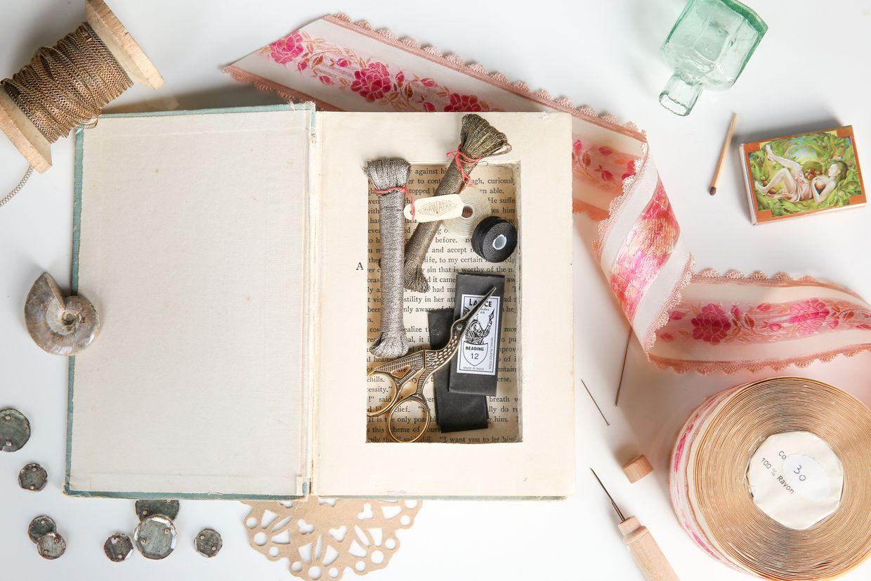 Diy Carved Hidden Book Storage Diy Projects