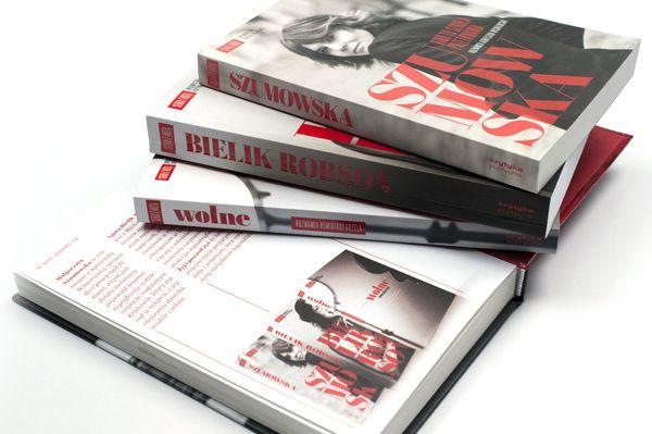 Seria Z Roza Series With Rose By Tessera Marcin Hernas Via Behance Book Design Graphic Card Series