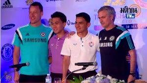 Chelsea tiba di Thailand dalam rangkaian International Friendlies