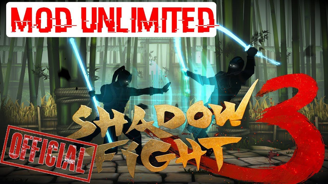 shadow fight 3 mod apk download mod unlimited money android game