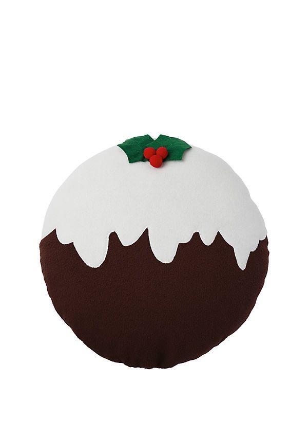Christmas Pudding Cushion | Kandco.com