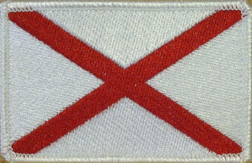 BURUNDI FLAG  Embroidered Iron-On Patch Military Emblem Gold Border
