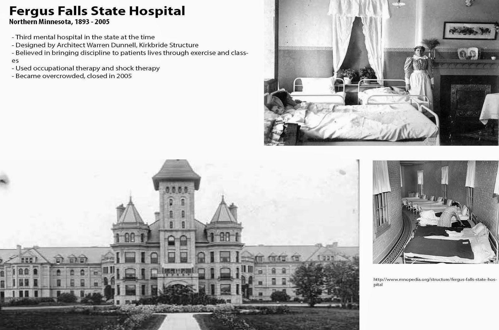 Fergus Falls State Hospital Precedent Research [rr