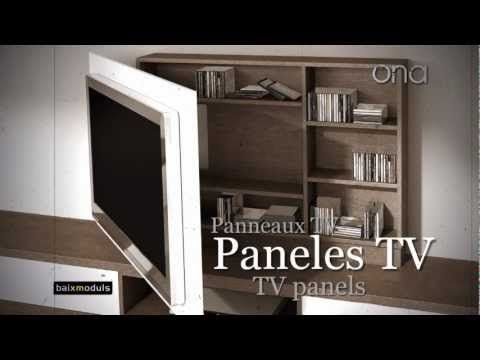 mueble television giratorio 08 youtube carpinter a