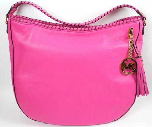 Michael Kors Bennet Zinnia Pink Whipped Leather Handle Bag Orig Pr $298.00 $199.99 (33% OFF)