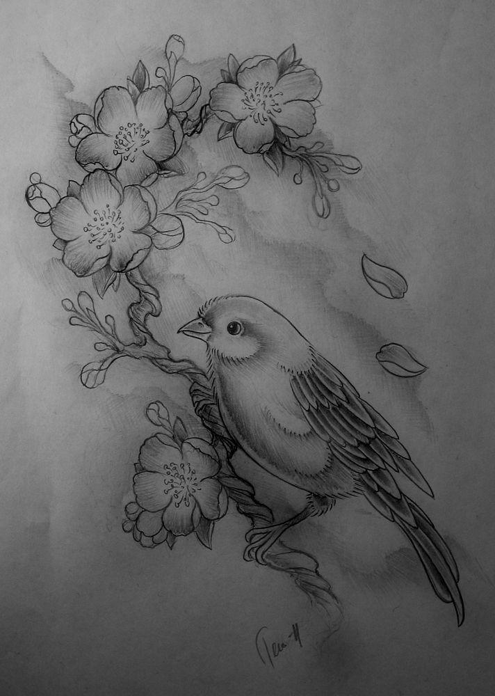 Small Mirror Tattoo: Birds Tattoo, Tattoo Sketches