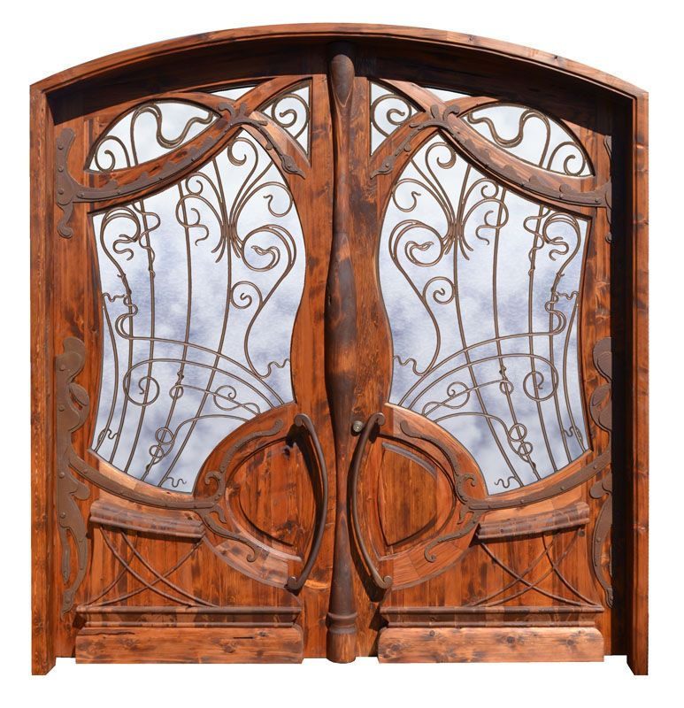 Door - French Design From Historic  Record - HRD995