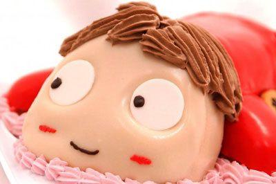 ポニョ3dケーキ 3dケーキ 誕生日ケーキ オーダーケーキ