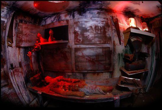 Haunted Houses In Kentucky, Talon Falls Screampark