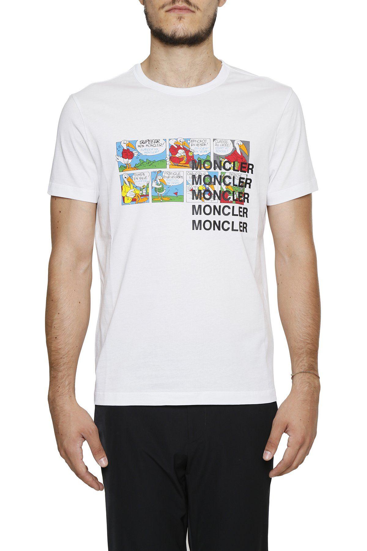 c3c873720b0c MONCLER MONCLER CARTOON PRINT T.  moncler  cloth