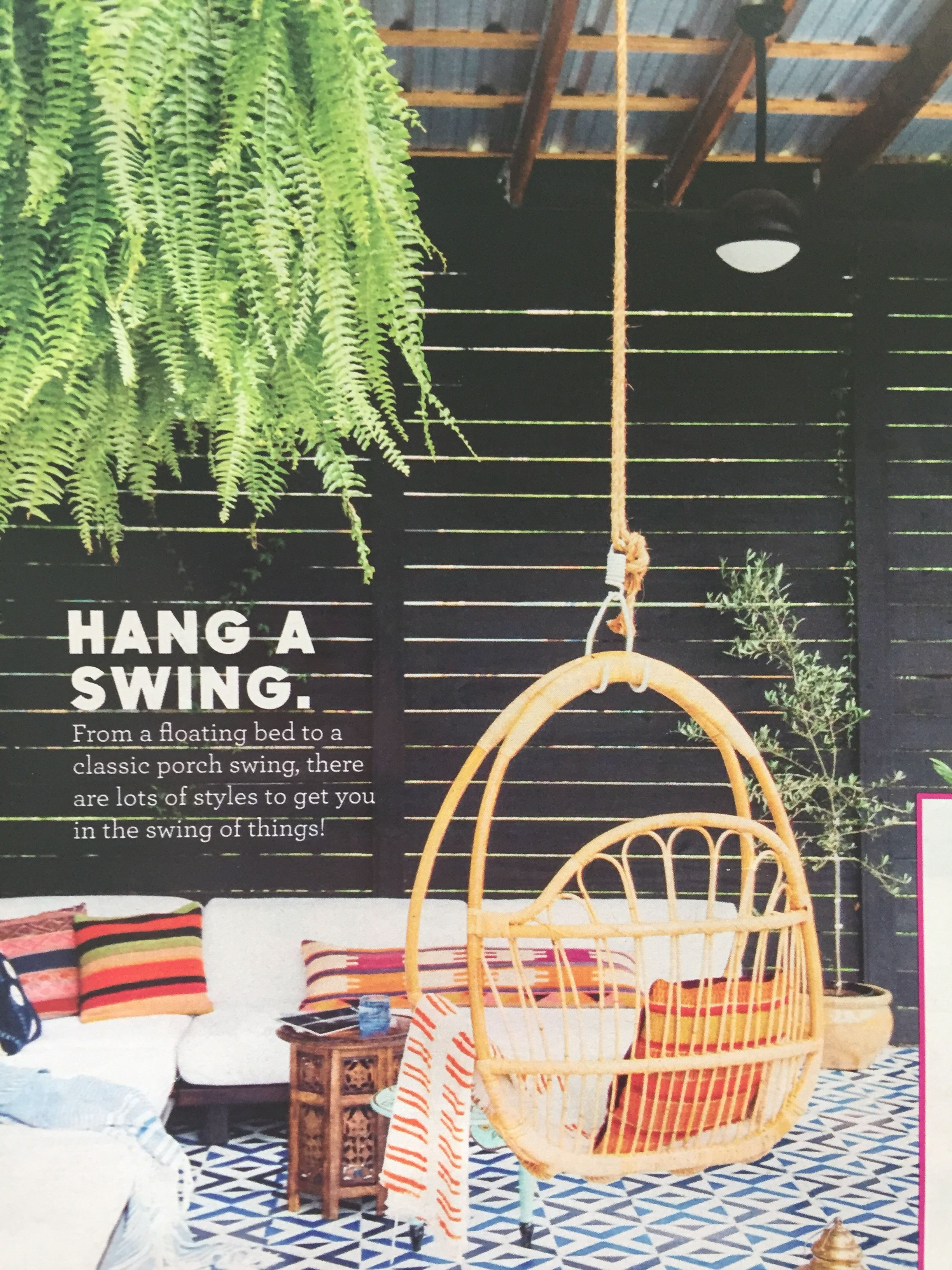 Outdoor egg swing Floating bed, Hanging chair, Porch swing