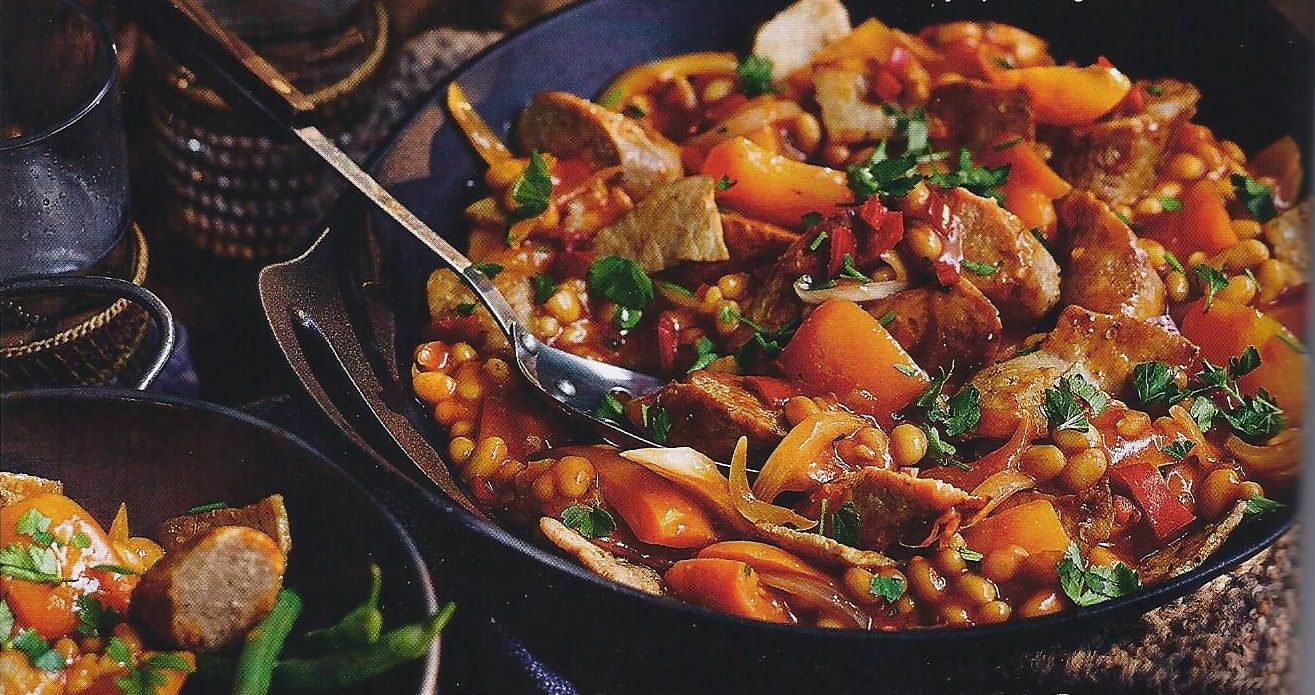 Camping Recipes: Campfire Stew With Mustard Mash