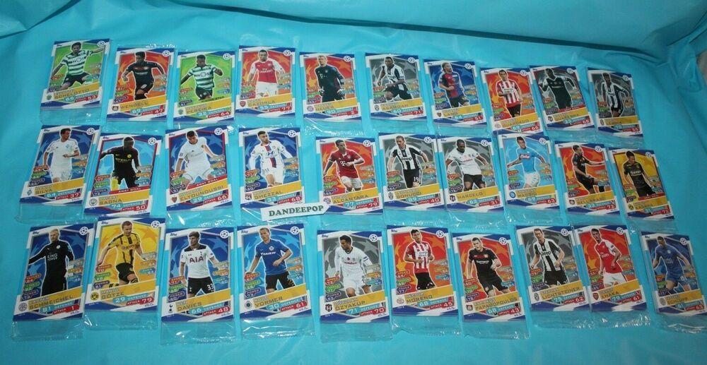 Topps Match Attax Soccer Uefa Champions League Trading Card 30 Packs Set 3 330 Ebay Match Attax Uefa Champions League Champions League