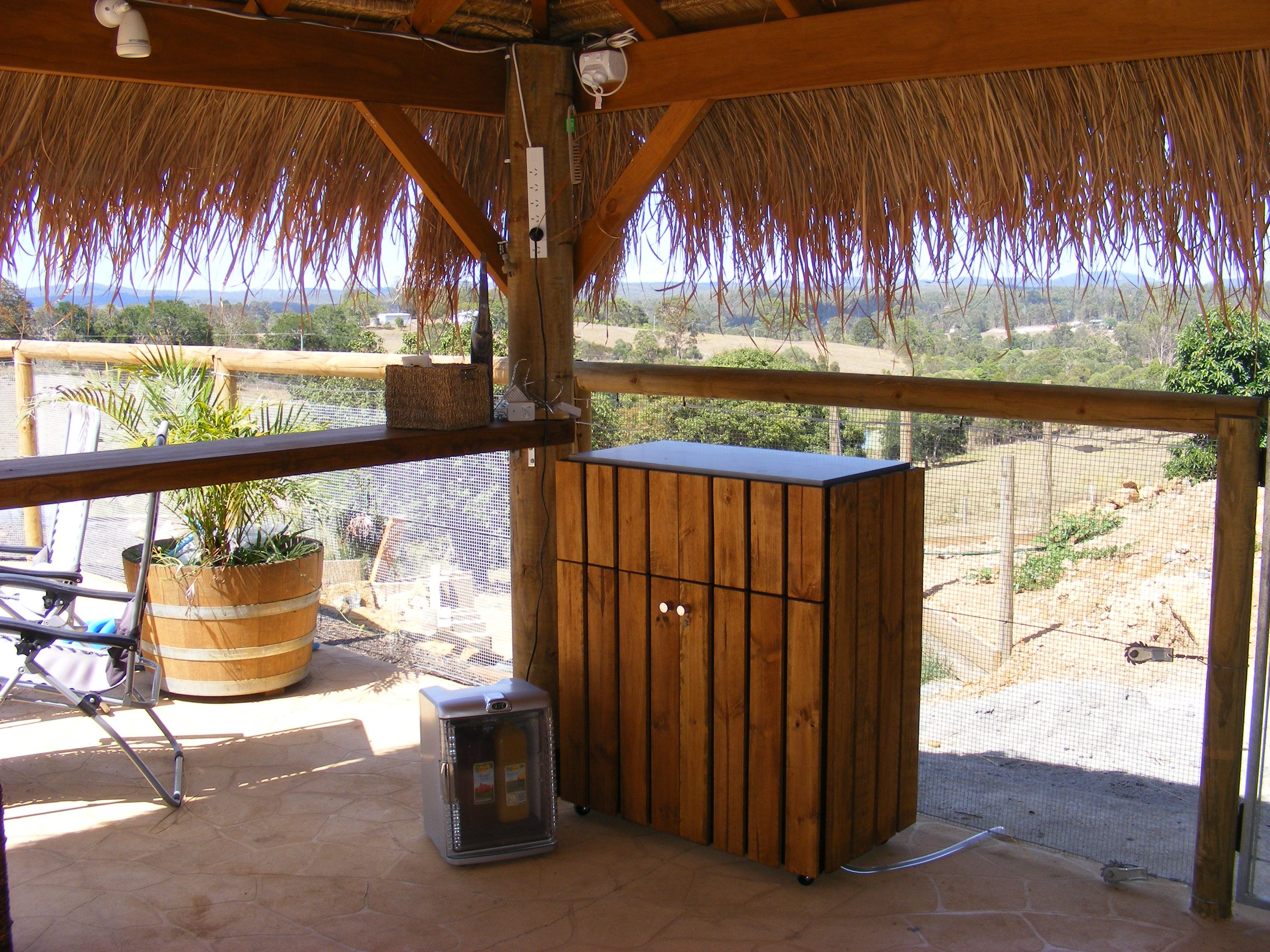 another view from bali hut garden ideas pinterest outdoor living