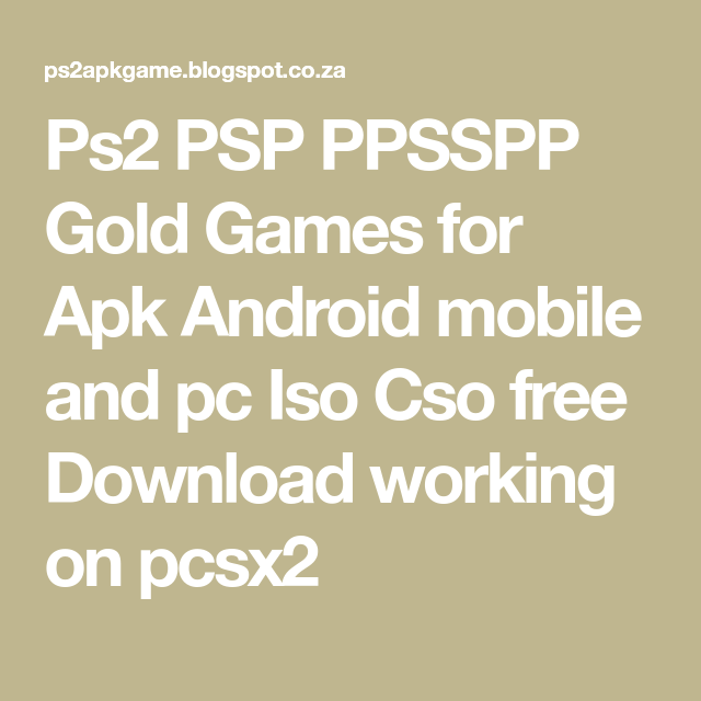 ppsspp gold apk free download latest