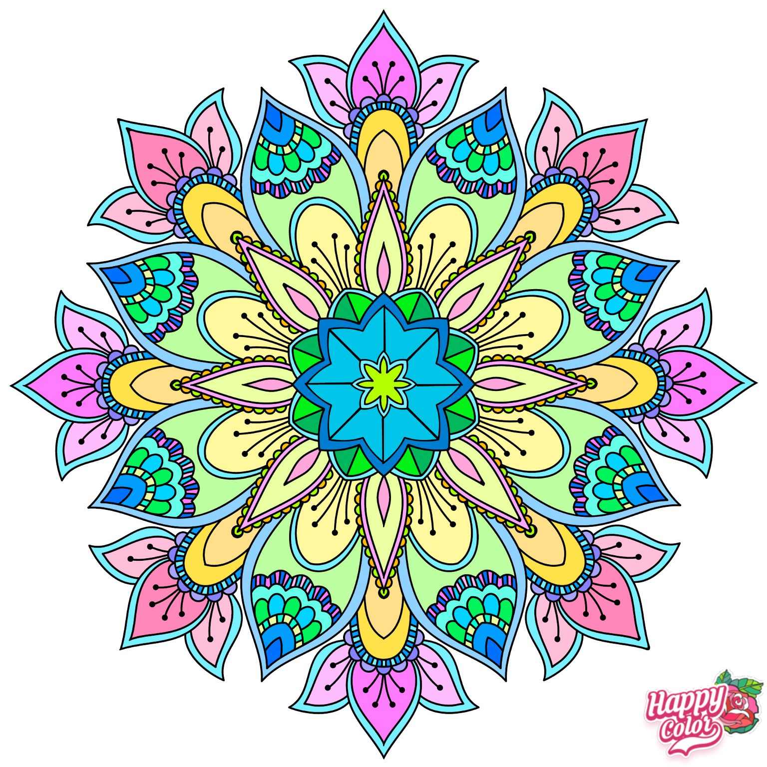 Pin By Deborah Kendrick Cummings On Happy Color In 2020 Happy Colors Tapestry Colouring Pics