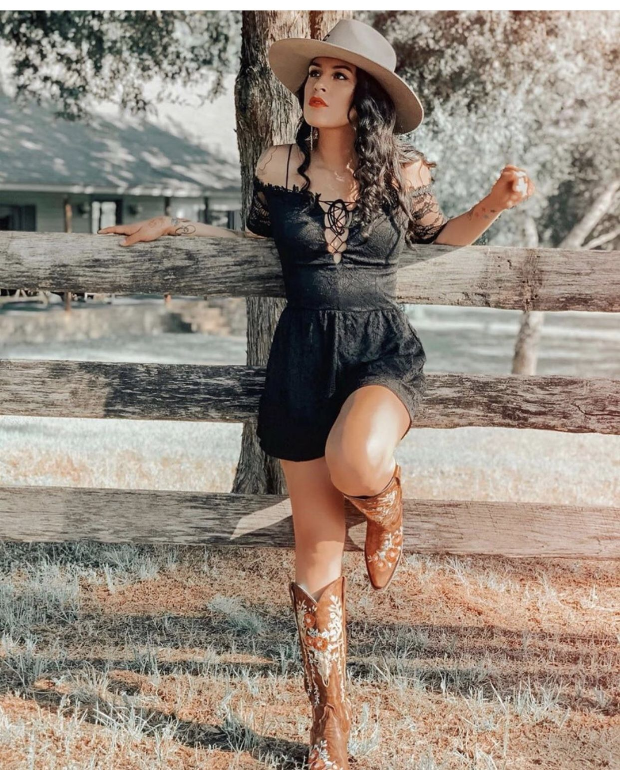 Sexy western cowgirl womens costume