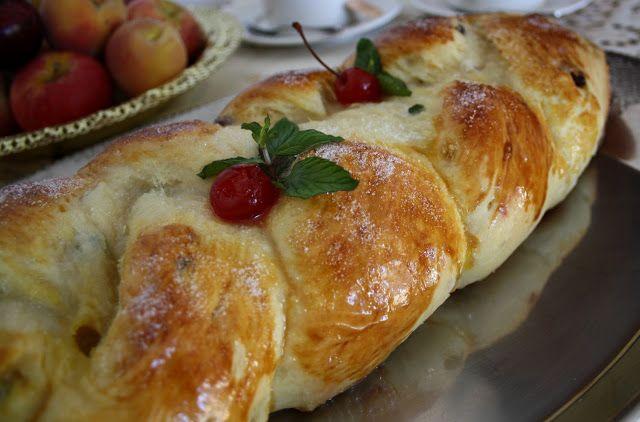 Traga as velas: Ensaio para o Natal: rosca doce com frutas cristalizadas & passas