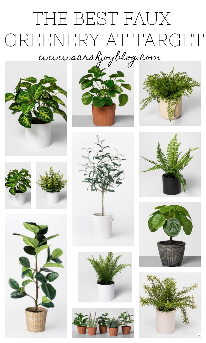The Best Faux Greenery at Target