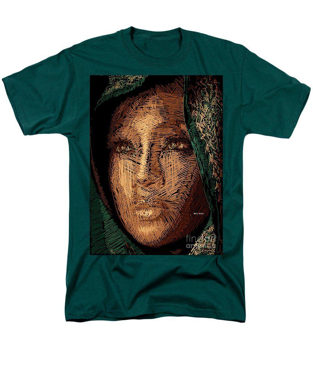 Men's T-Shirt (Regular Fit) - Studio Portrait In Pencil 54