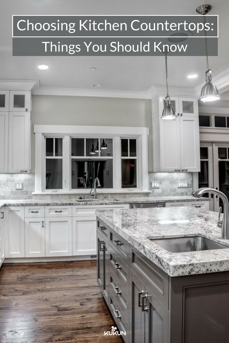 How To Choose A Countertop Color Choosing Kitchen Countertops Things You Should Know Home