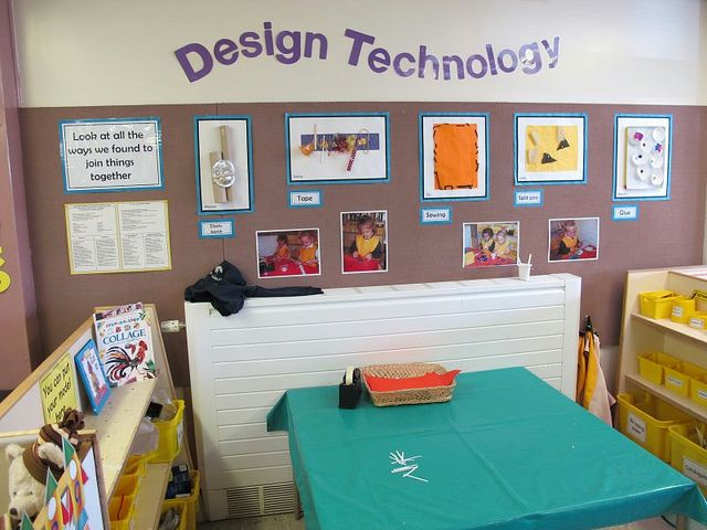 classroom technology displays dt eyfs area display organisation fs1 flickr investigation preschool junk modelling tishylishy creative areas read investigations nursery