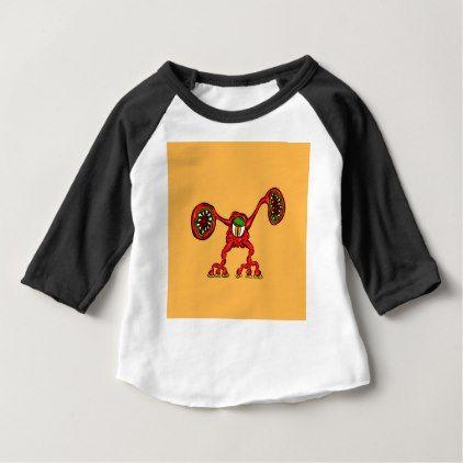 Alien Wiggle Monster Germ - Shout Baby T-Shirt - #Halloween - halloween t shirt ideas