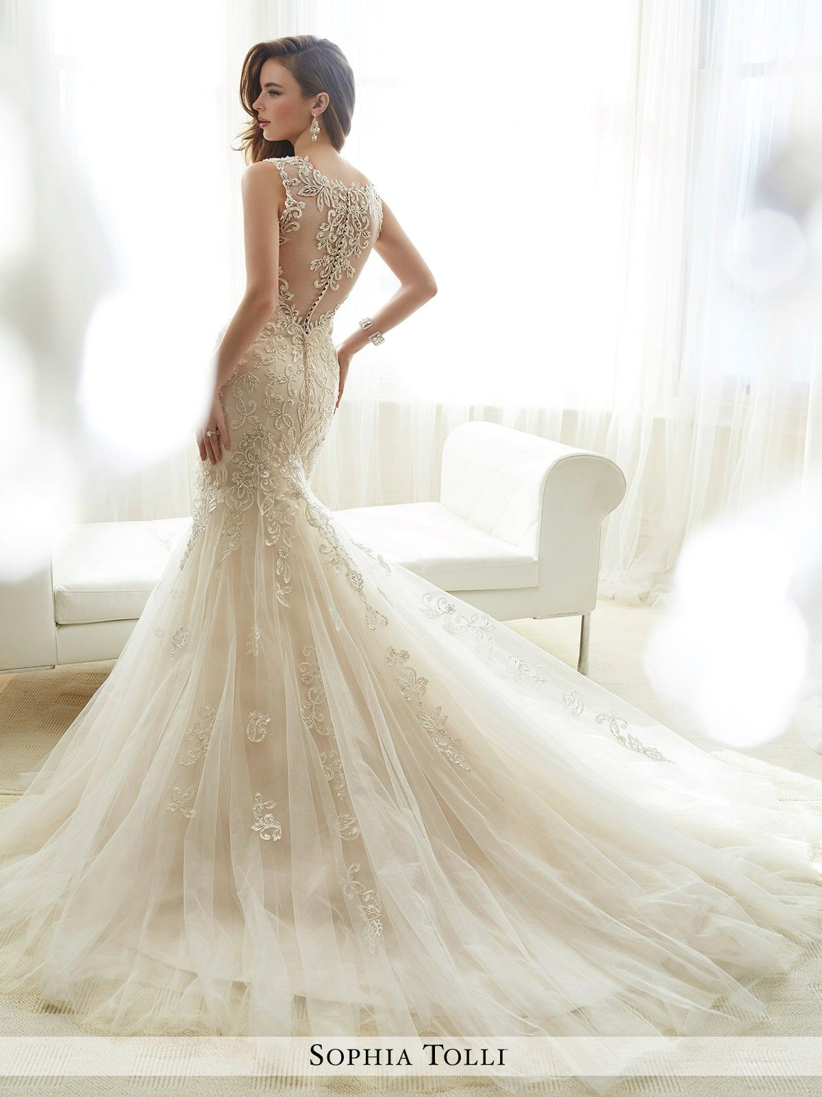 Sophia Tolli Wedding Dresses - Style Amie   Wedding gowns   Pinterest