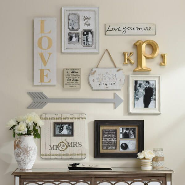 2015 Home Decor Trends We Want To Live Forever | Initials, Love