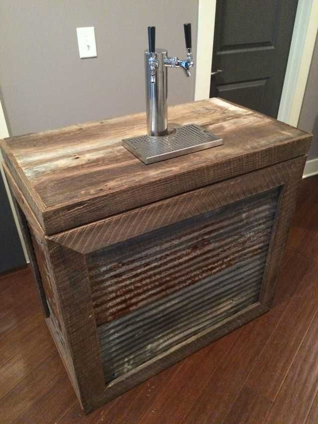 i built a kegerator for my wedding and homebrew kegerator diy kegerator man cave home bar on outdoor kitchen kegerator id=52492