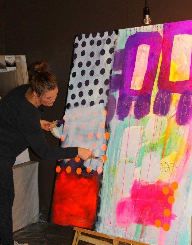 Laer At Male Med Kunstner Mette Lindberg Og Sostrene Grene Tegning Kunstnere Billedkunst