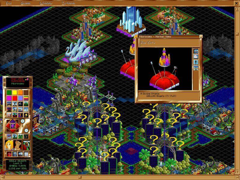 Afterlife simulation retro game - Abandonware Windows