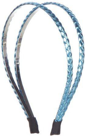 Izaro Braided Metal Split Headband TURQUOISE Izaro. $5.99
