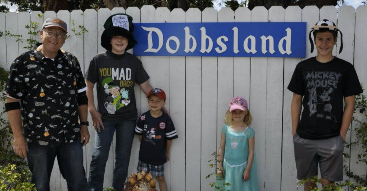 My Dad Built a Disneyland-Inspired Theme Park in His Backyard, Just for His Grandkids