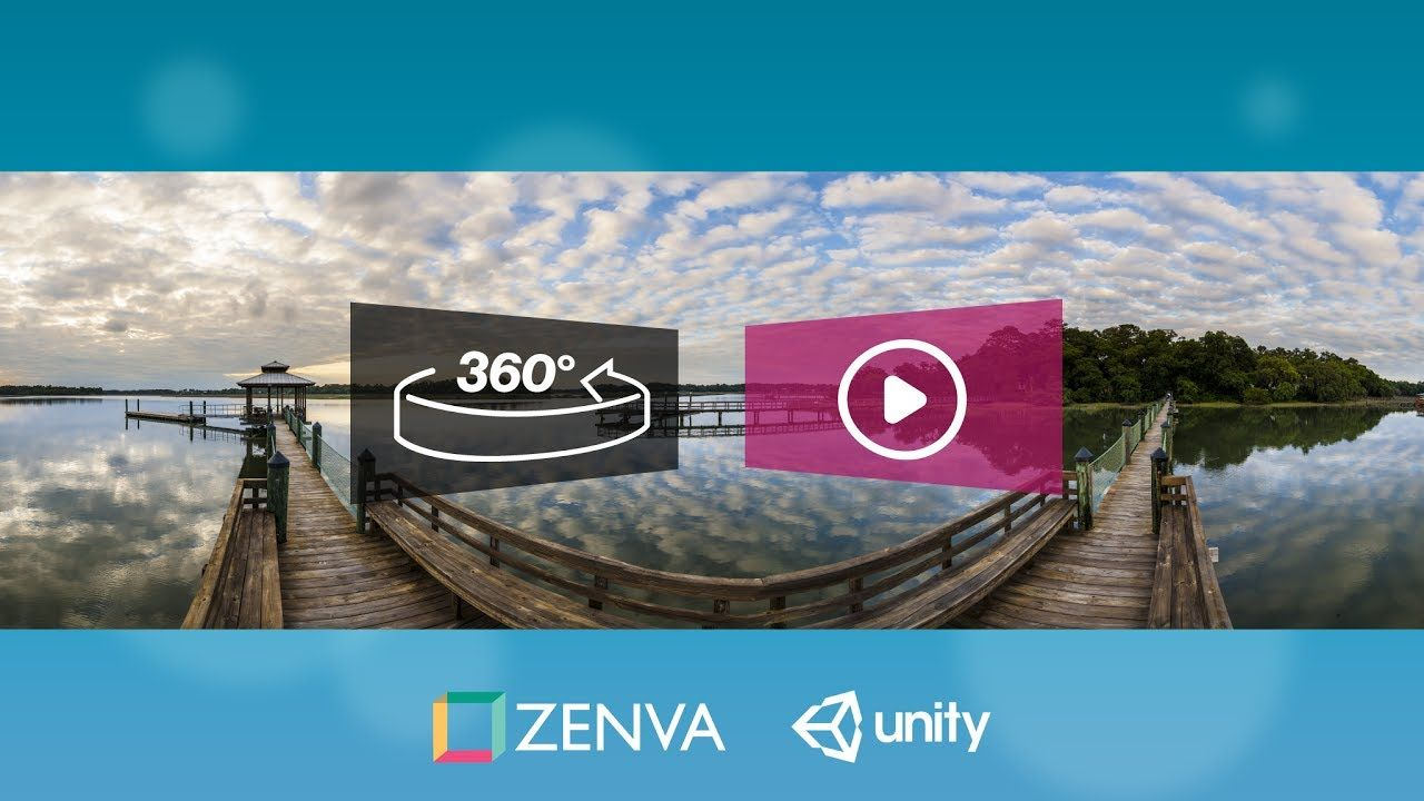 Unity VR 360 Video Tutorial - How to Render a 360-Degree Video