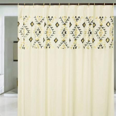 Jovi Home Cotton Navajo Shower Curtain With Images Shower
