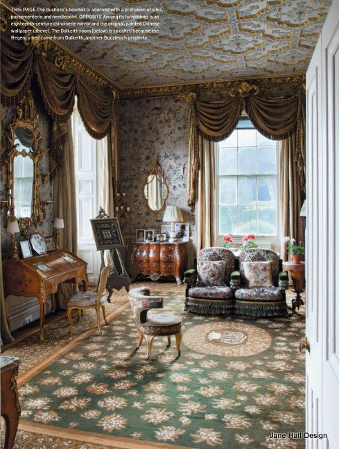 Country Home Interior Design: Historical 17th Century Interior Design English Country
