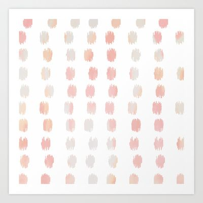 SKETCHY+DOTS++Art+Print+by+Pattern+Paint++-+$20.00