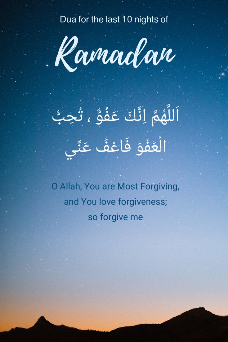 Allahumma Innaka Afuwwun Karim : allahumma, innaka, afuwwun, karim, Nights, Ramadan