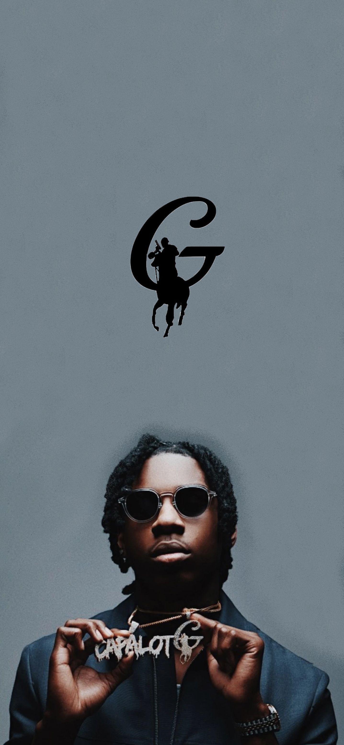 Polo G Wallpaper in 2020 | Rapper wallpaper iphone, Black ...