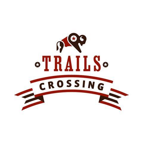 trails crossing logo