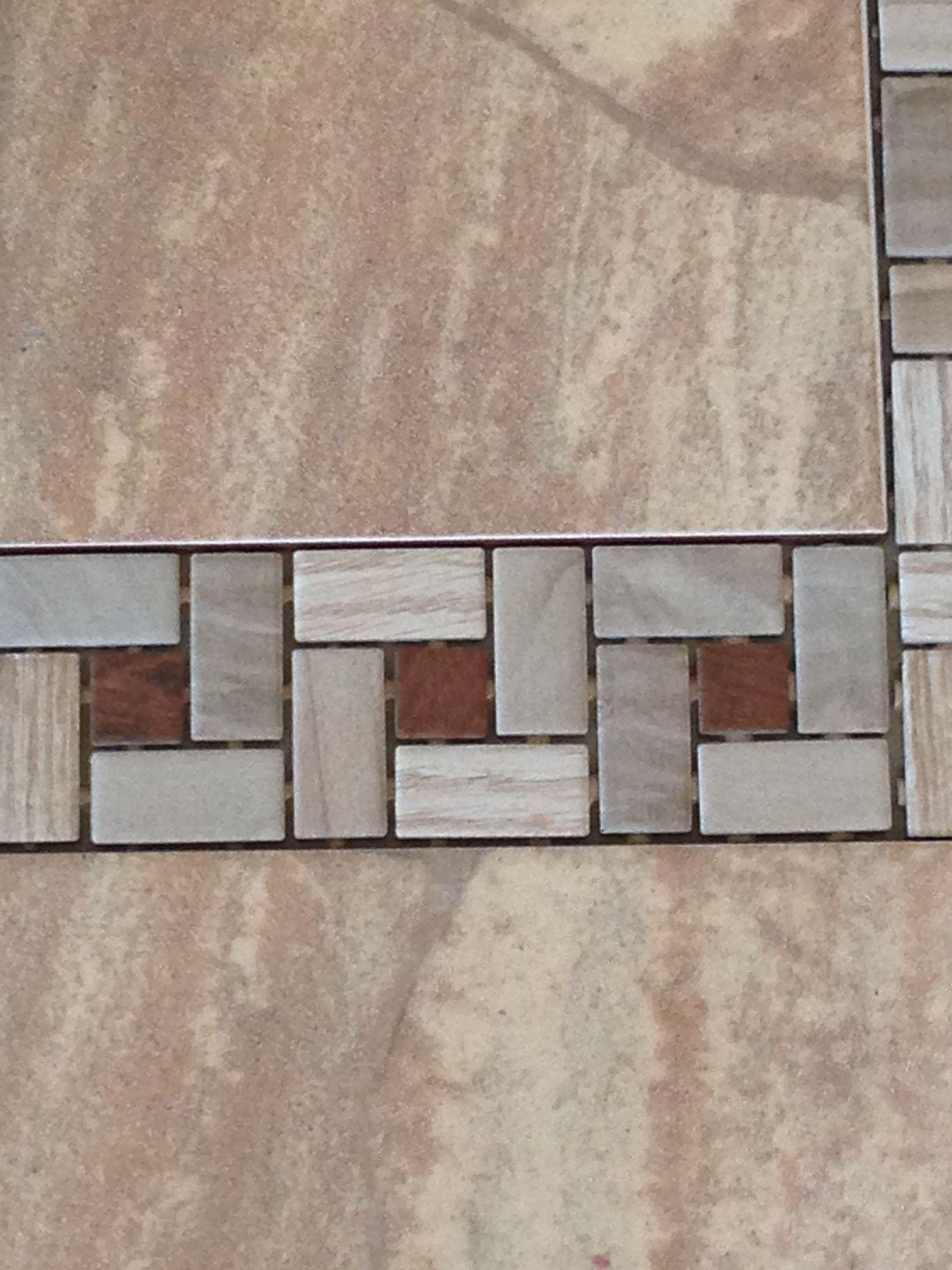 Detail Of Faux Wood Tile On Porcelain Faux Stone Tile New Pins