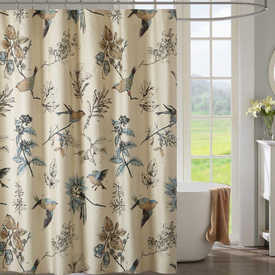 Shawnee 100 Cotton Shower Curtain Stylish Shower Curtain
