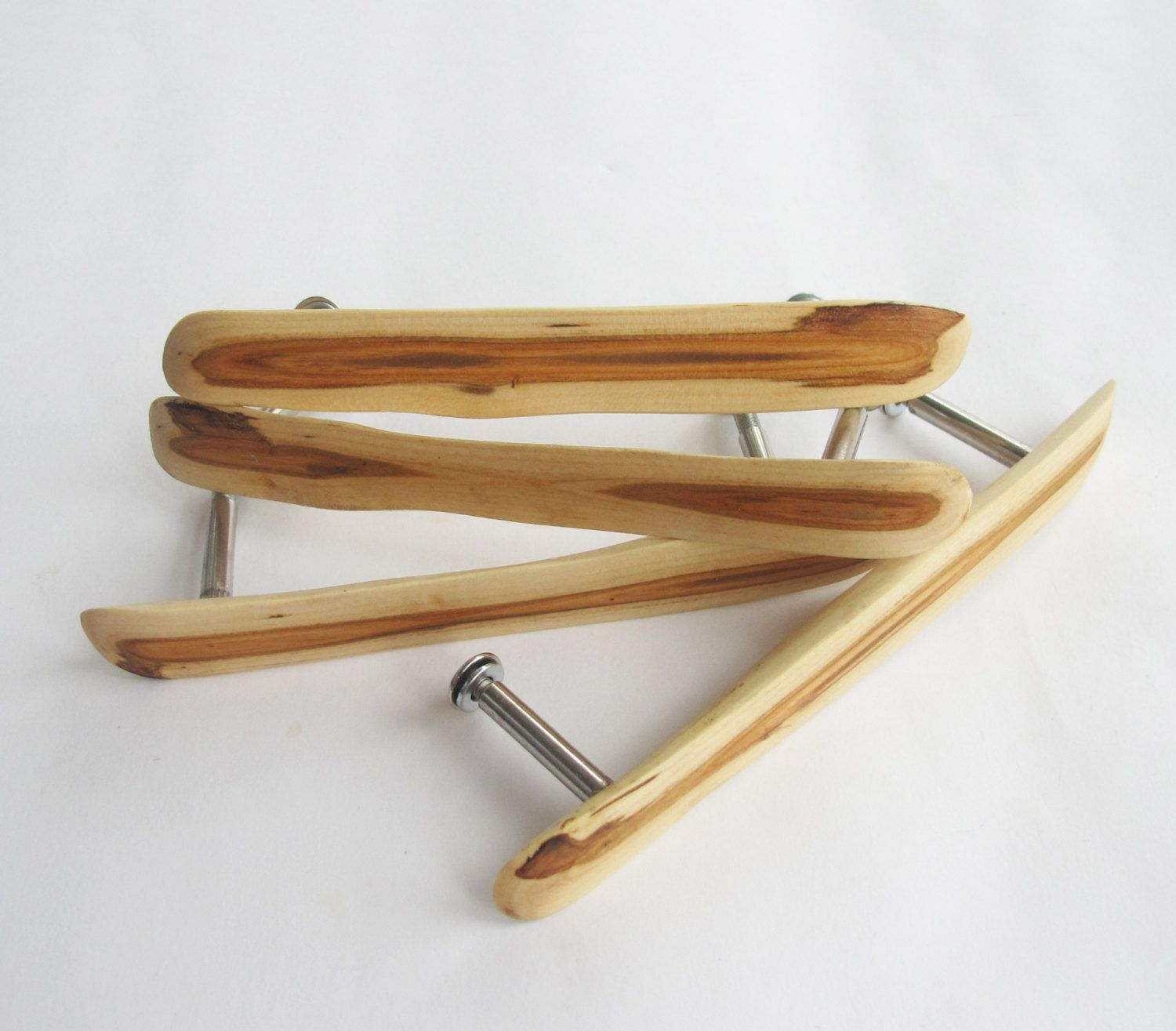 These Handmade Wooden Drawer Pulls Are Made From A Plum Wood The Set Of 2 Drawer Pulls Is A