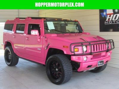 2009 Hot Pink HUMMER H2 (Pink Cars, Pink Jeep, Pink SUV, Pink Convertible)
